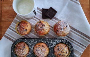 muffin con yogurt