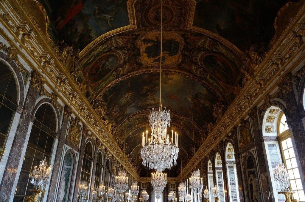 galleria degli specchi Versailles